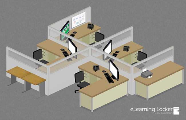 Learning Environments Elearning Locker Templates