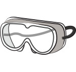 Safety goggles (grey)