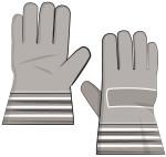 Work gloves (grey)