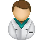Doctor icon/illustration
