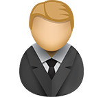 Business man icon/illustration