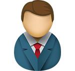 Business man icon/illustration