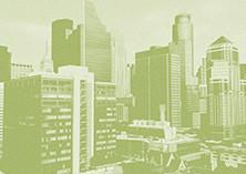 Urban environment (green, stylized) (3981 x 2554)