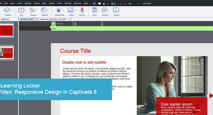 Responsive Design with Captivate 8